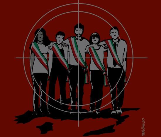 Minacce ad amministratori pubblici, Napoli e Campania maglie nere: boom di casi