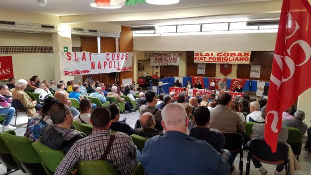 Pomigliano D'Arco, 25 aprile: grande assemblea lavoratori italiani e immigrati