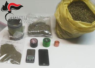Coltivazione e spaccio di marijuana: arrestato