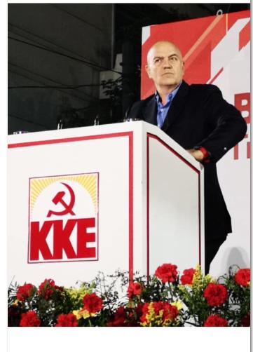 """Atene,  Rizzo partito comunista: """"Pd e sinistra borghese hanno tradito i lavoratori"""""""