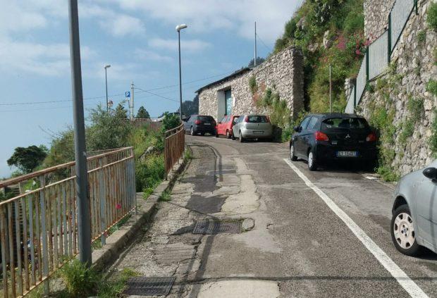 Amalfi: lunedì partono i lavori in via Pogerola