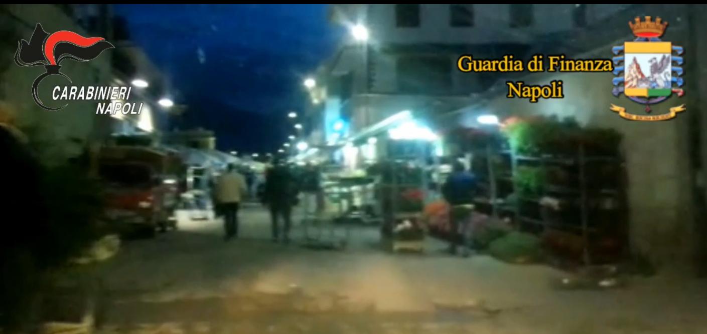 Castellammare di Stabia: estorsioni agli imprenditori del 'mercato dei fiori',  sette arresti
