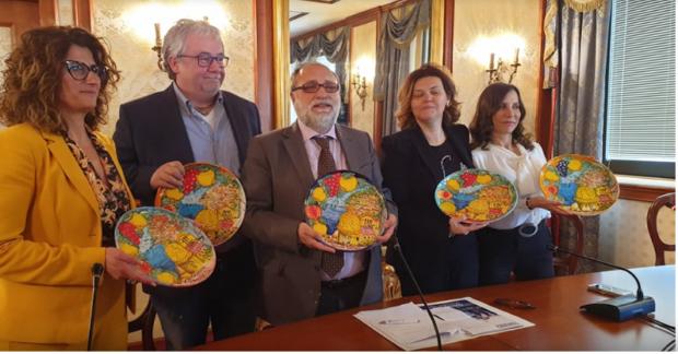 Airola, Benevento: le ceramiche dei giovani detenuti