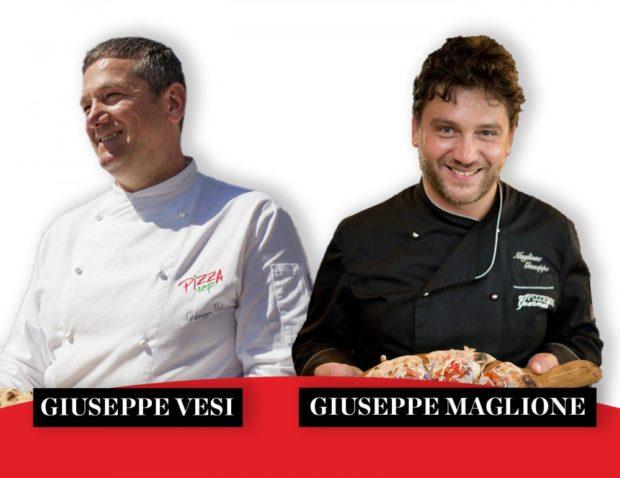 Avellino: Giuseppe Maglione e Giuseppe Vesi si confrontano sulla pizza