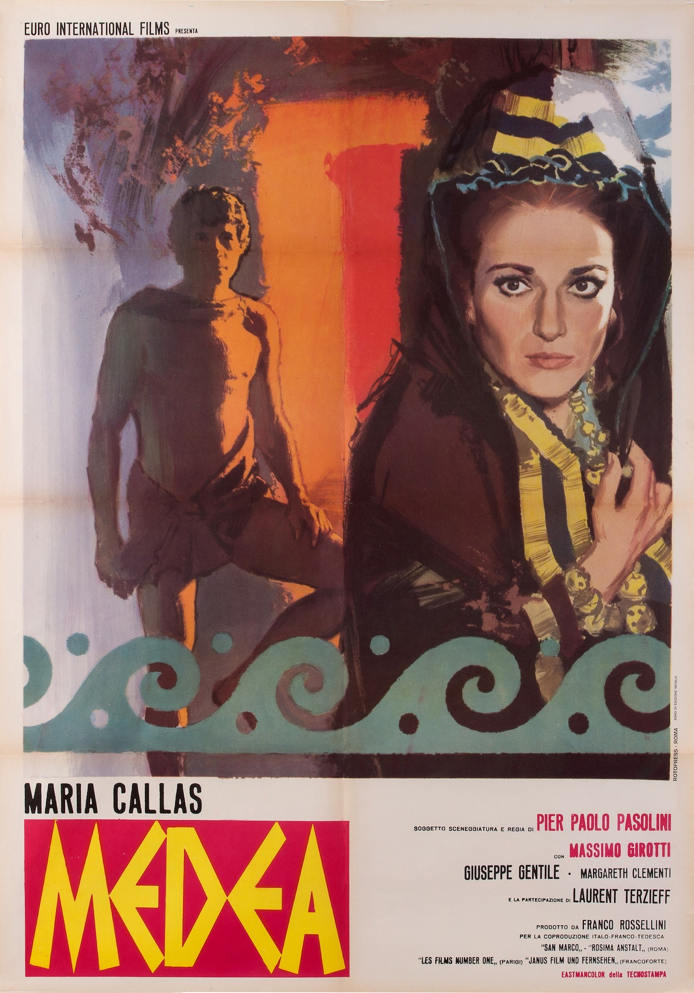 Grado, l'Isola del Sole rende omaggio a Pier Paolo Pasolini, Maria Callas e Medea
