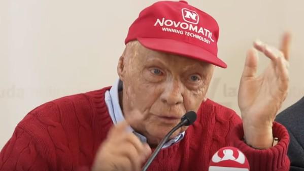Automobilismo, addio alla leggenda Niki Lauda