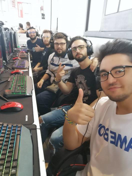 La Salerno Guiscards trionfa alla Esl Vodafone Academy