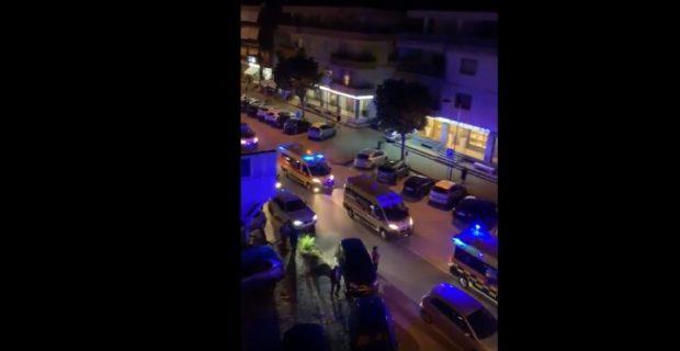 Ambulanze in corteo per festeggiare Alfieri: 18 indagati