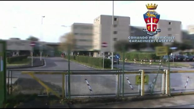 Santa Maria Capua Vetere, estate senza acqua per oltre mille detenuti