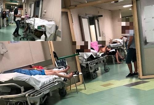 Cardarelli, pazienti su barelle anche in chirurgia d'urgenza
