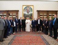 Papa Francesco ha ricevuto il leader della Cgil Maurizio Landini