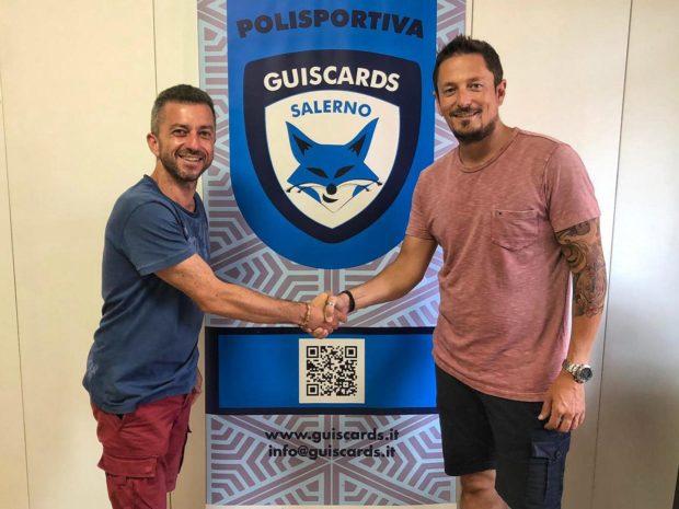 Nino Belmonte istruttore del settore giovani della Salerno Guiscards