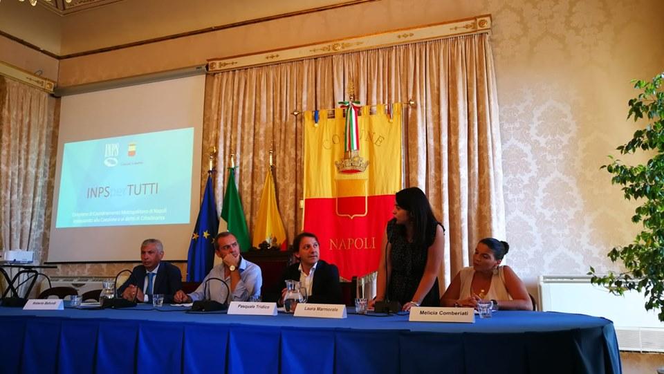 Inps e Comune di Napoli alleati contro la povertà