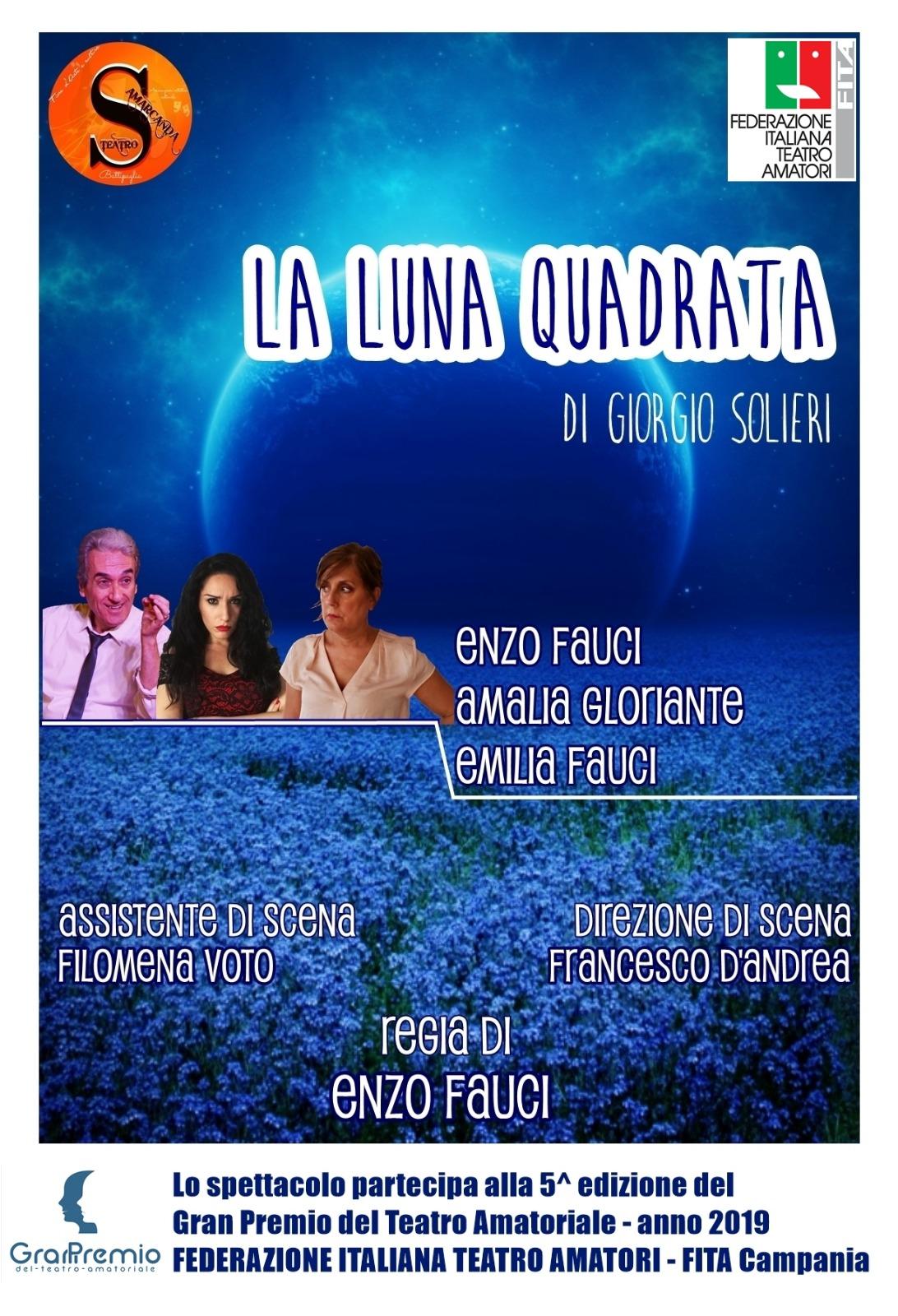 """""""La Luna Quadrata"""" a Teatrando al Quadriportico"""