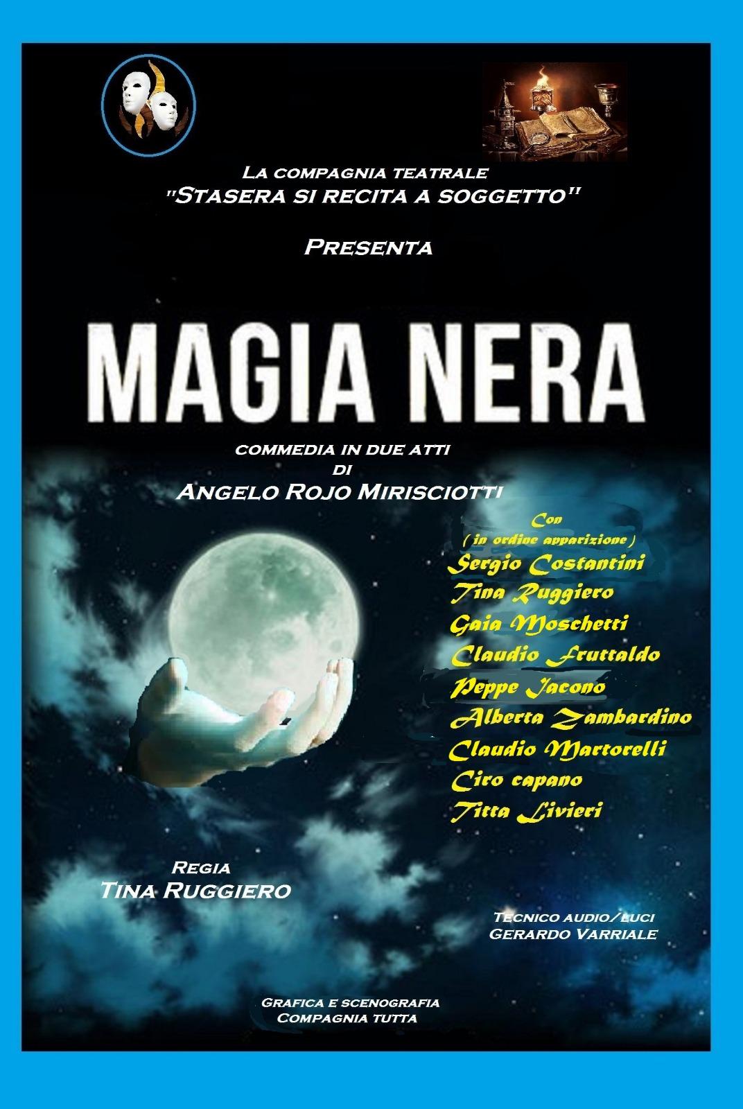 """La """"Magia nera"""" di Mirisciotti a Teatrando al Quadriportico"""