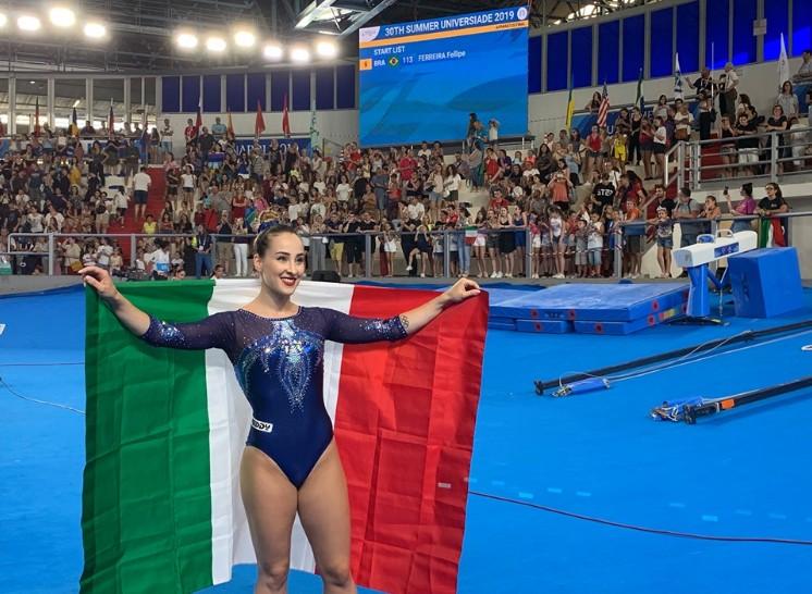 Universiadi, Ferlito è d'oro nella ginnastica artistica