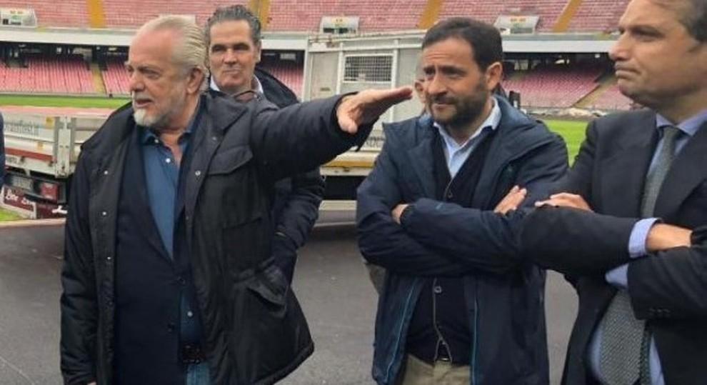 Napoli, il Comune regala il San Paolo a De Laurentiis