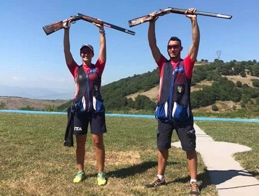 Universiadi, oro all'Italia nel tiro a volo: trionfano D'Ambrosio e Rossi