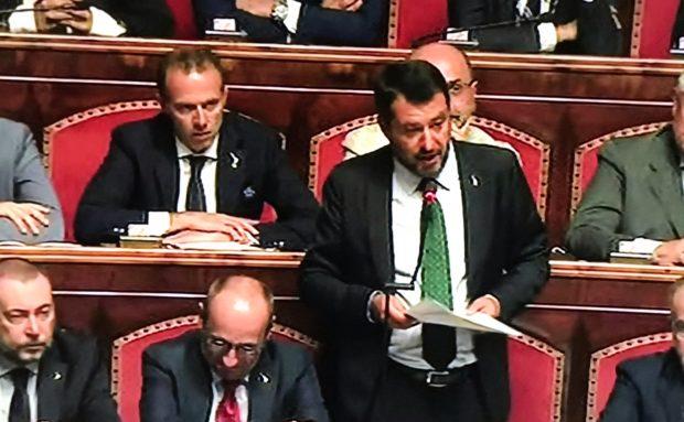 Salvini apre ancora per un governo Conte bis