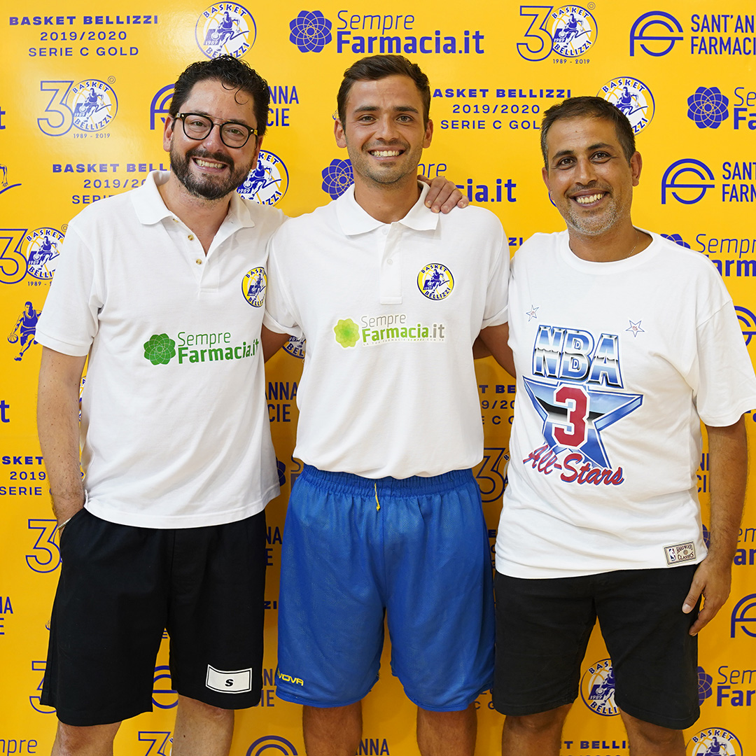 Basket Bellizzi: arriva il playmaker Ernesto Beatrice