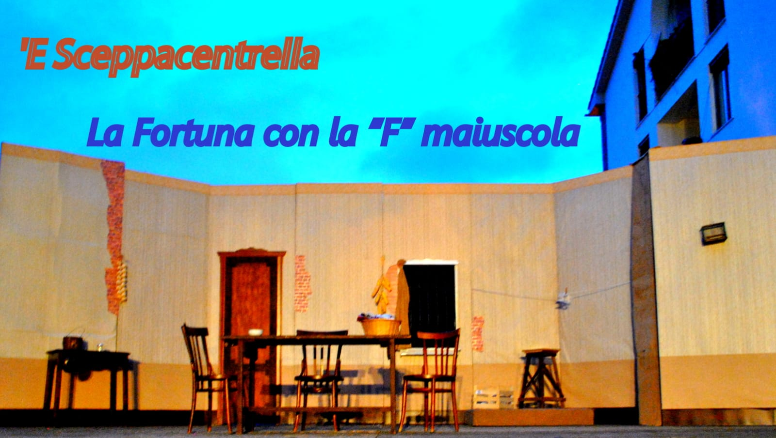 """Salerno: Stasera ci si diverte con """"La Fortuna con la F Maiuscola"""""""