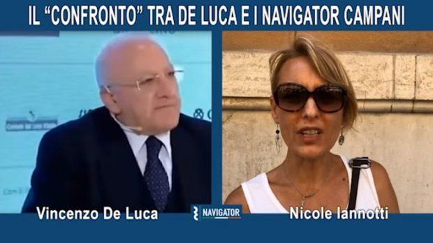 """De Luca non vuole incontrarli: i Navigator si inventano il confronto """"virtuale"""""""
