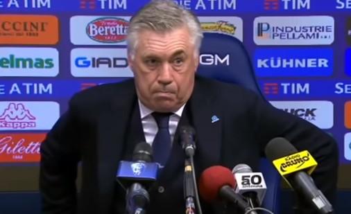 Ufficiale: il Napoli esonera Ancelotti