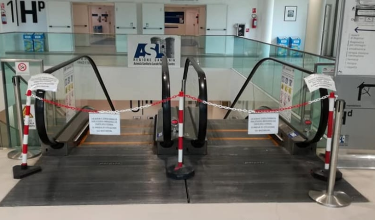 Napoli, allagato l'Ospedale del Mare: inaugurato da poco e costato 400 mln di euro