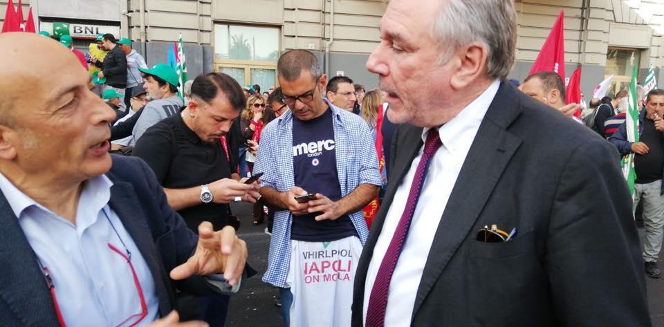 Napoli, il Comune concede 3 milioni di euro a Fintecna: bufera su de Magistris e Panini