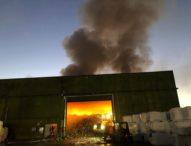 Santa Maria Capua Vetere, incendio impianto rifiuti: disastro ambientale