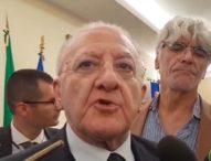 """Campania, De Luca al Governo: """"Siamo al collasso! Da Roma non arrivano forniture, potremo solo contare i morti"""""""