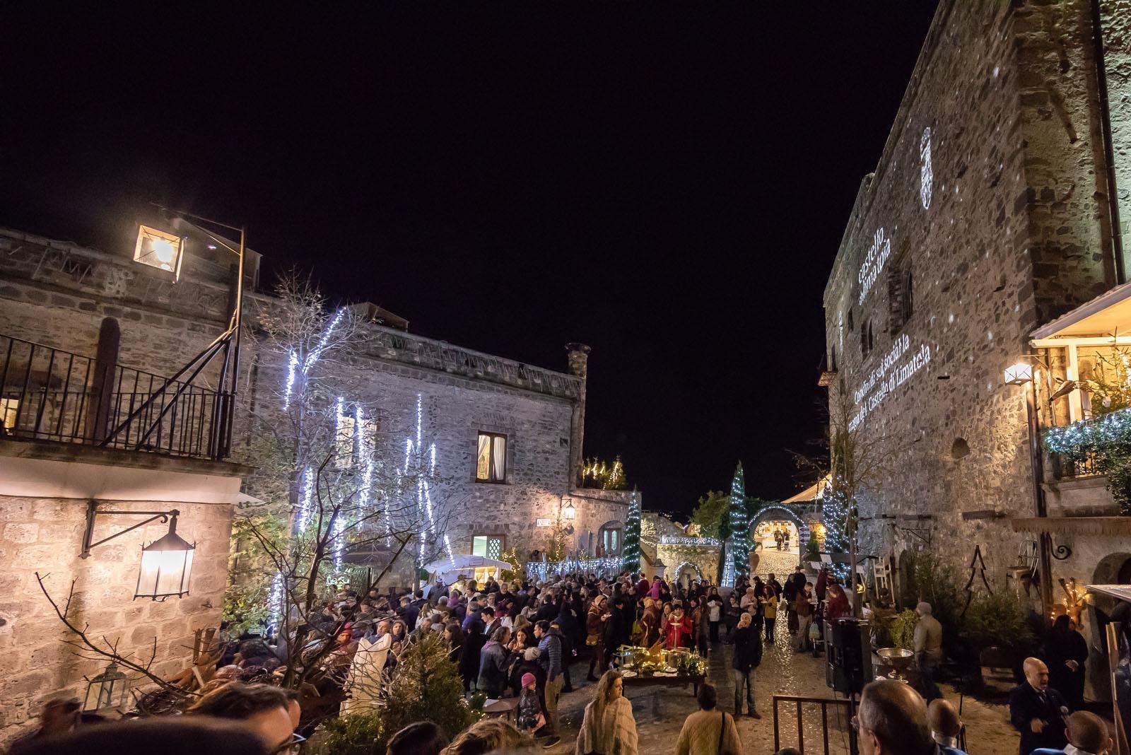 Torna il mercatino di Natale al Castello di Limatola