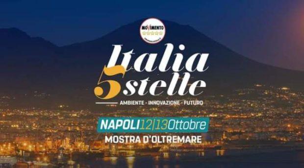 Napoli, la festa del M5s: stand, dibattiti e spettacoli