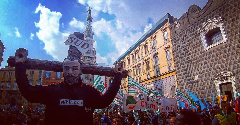 Napoli, sciopero industria: 5 mila in corteo