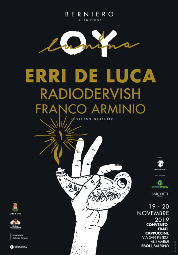 """Erri De Luca tra gli ospiti del festival """"Berniero"""""""