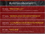 "A Sala Consilina torna ""MonoDrama""Monologue Dramatique"