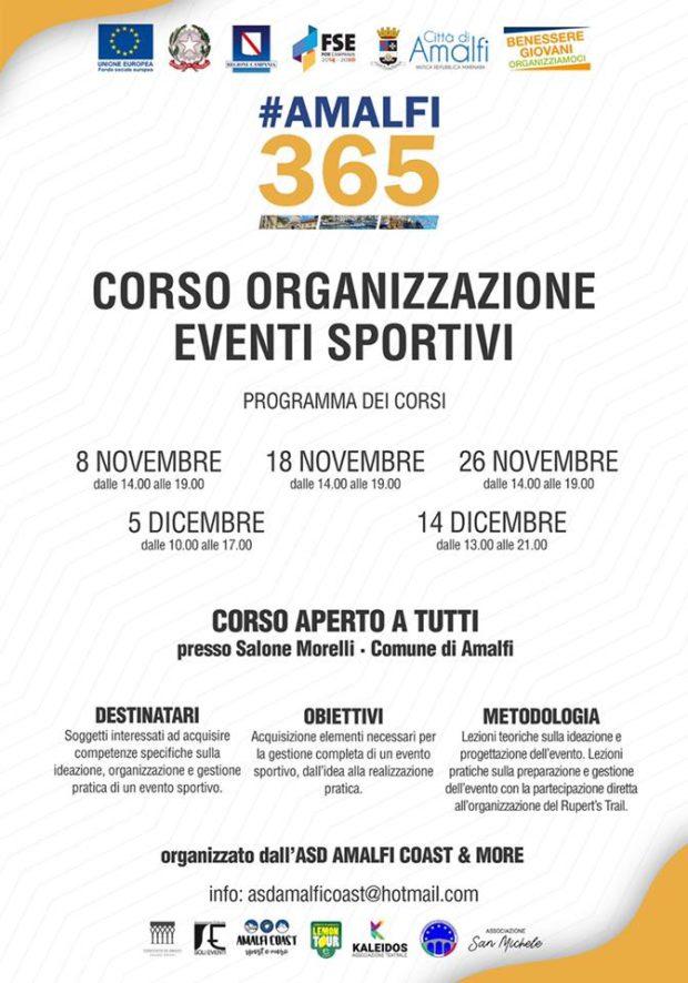 #Amalfi365: partono i primi due laboratori