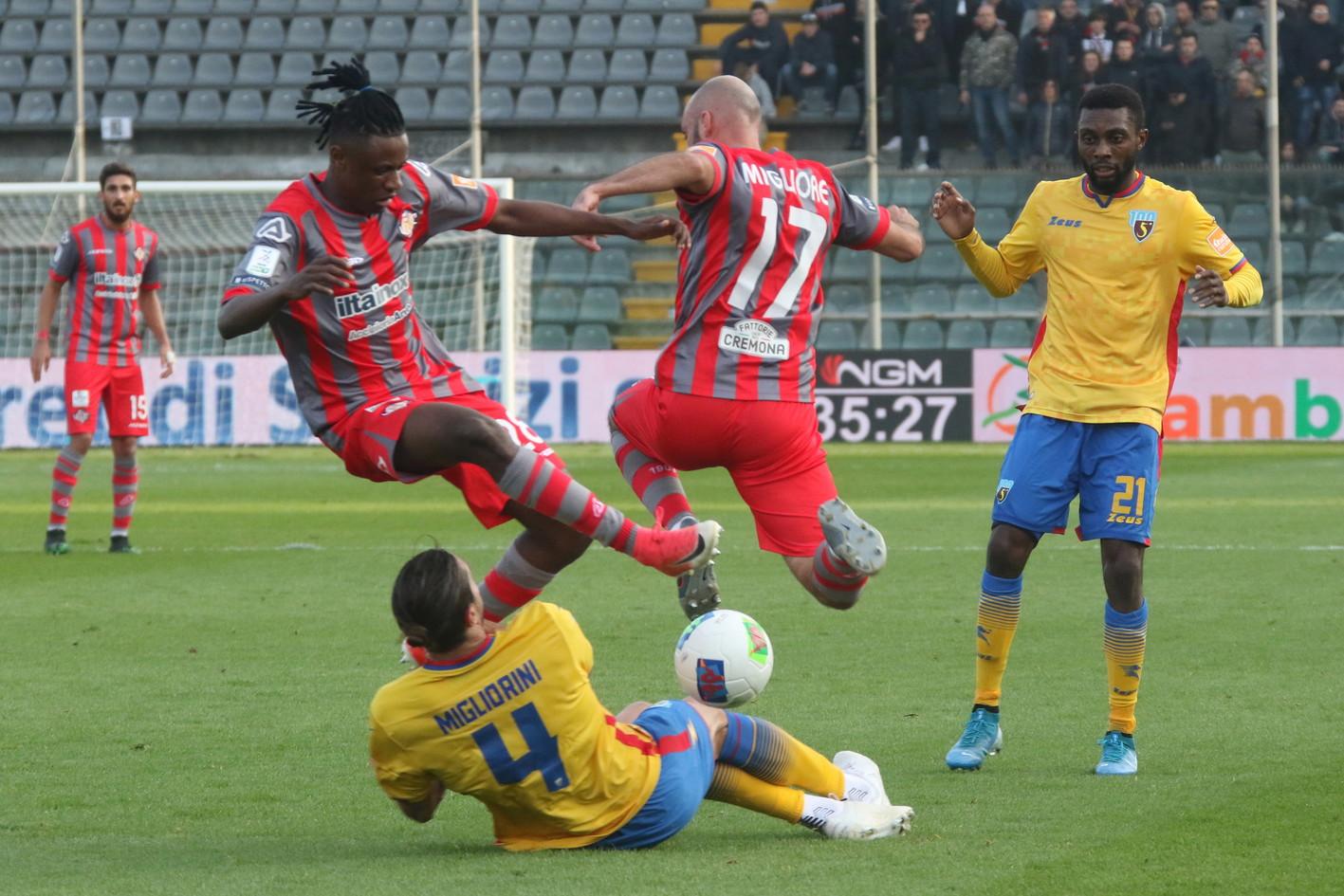 La Salernitana sconfitta dalla Cremonese 1 – 0