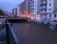 Il fiume Irno si trasforma in un fiume di fango