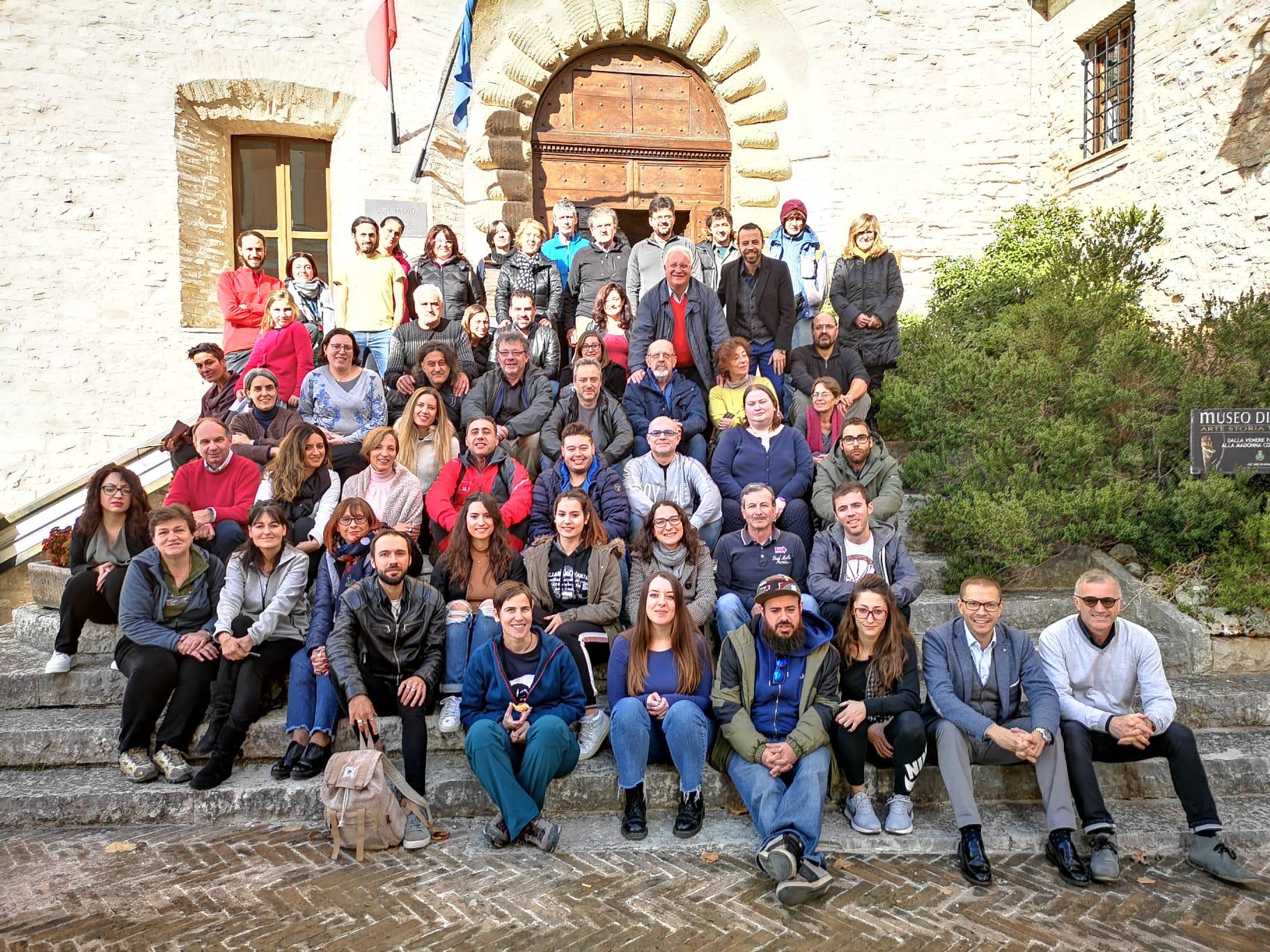 60 partecipanti al corso di formazione per guide in grotta