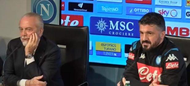 """Napoli, via all'era Gattuso: """"Faremo il 4-3-3, obiettivo Champions"""""""