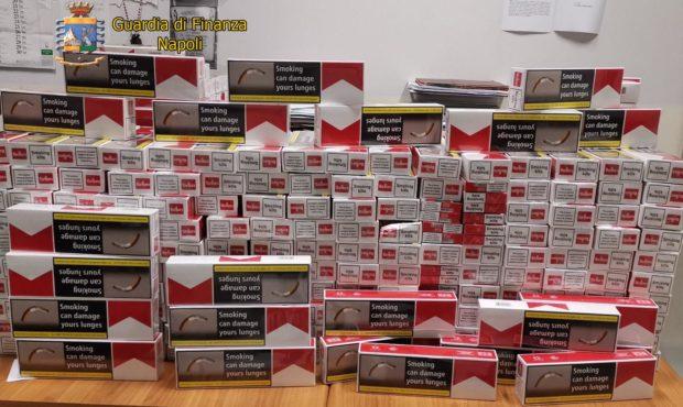 Napoli, 70 chili di sigarette di contrabbando dalla Polonia: 3 arresti