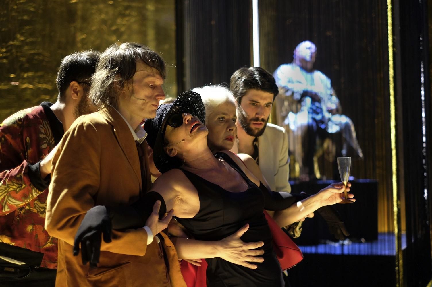 Napoli, Teatro San Ferdinando: Il Satyricon di Francesco Piccolo