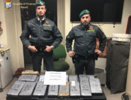 Napoli, la guardia di finanza sequestra 33 chilogrammi di cocaina: un arresto