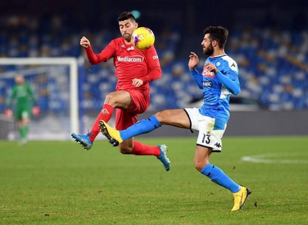 Anche la Fiorentina passa al San Paolo, il Napoli è a pezzi