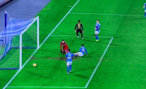 Difesa horror con l'Inter, Napoli ko al San Paolo