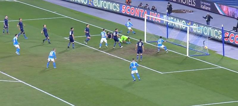 Insigne gela la Lazio, Napoli in semifinale di Coppa Italia