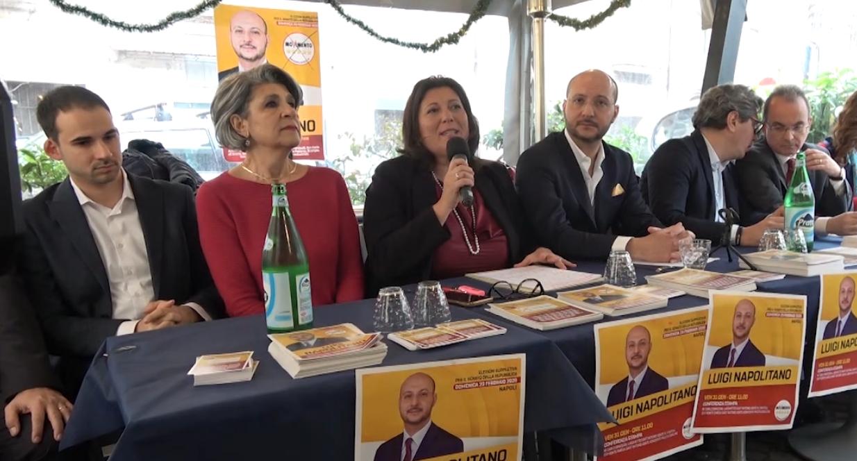 Suppletive: Napolitano candidato M5s, all'attacco di De Magistris e Ruotolo