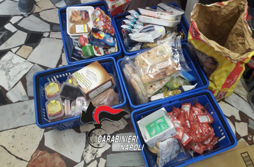 Ischia, blitz carabinieri nei supermercati: trovate 480 confezioni alimenti scaduti