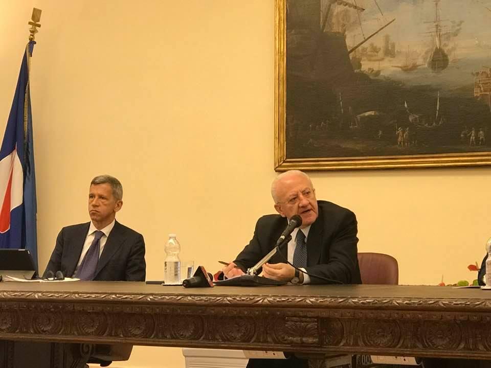 Coronavirus: Campania, De Luca istituisce task force per gestire l'emergenza